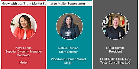 """Grow with us: """"From Market Format to Meijer Supercenter"""" tickets"""