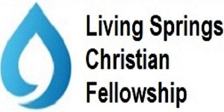 Living Springs Venue Pre-Registration (New Covid Measures) tickets