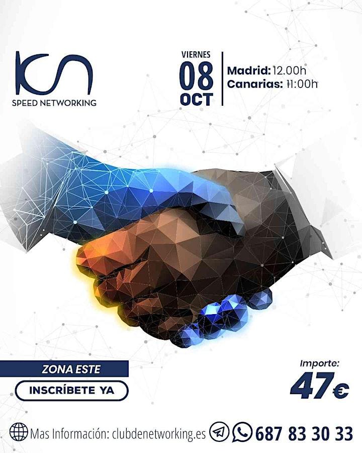 Imagen de KCN Speed Networking Online Zona Este 08 OCT