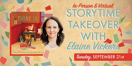 Storytime with Elaine Vickers tickets