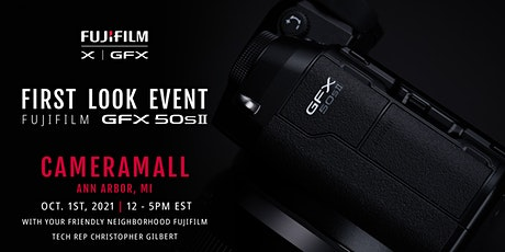 Fujifilm Launch Event - Try & Preorder the GFX 50S II, XF 23mm/33mm F1.4 WR tickets