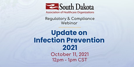 Update on Infection Prevention 2021 tickets