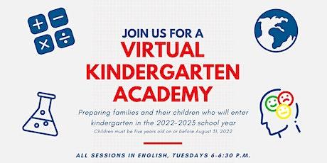 2021-22 Virtual Kindergarten Academy tickets