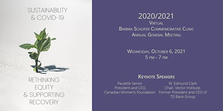 2021 Schlifer Clinic AGM tickets