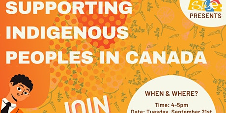 Online Roadshow: Supporting Indigenous Peoples in Canada tickets