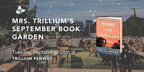 Trillium Book Garden tickets