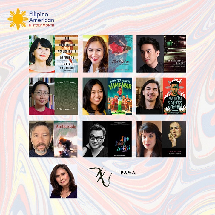 HOT OFF THE PRESS LITERARY READING with 9 Filipino & Filam Authors image