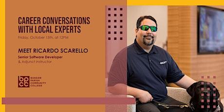 Career Conversations: Meet Ricardo tickets