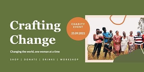 Crafting Change Charity Event by Project Três Tickets
