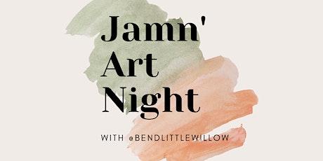 Jamn' Art Night tickets