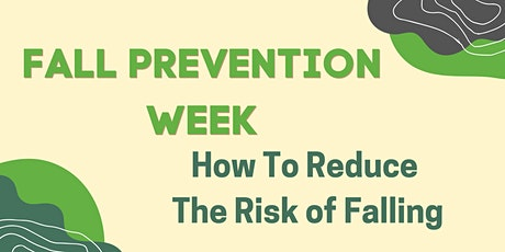 Fall Prevention: How to Reduce Risk of Falling tickets