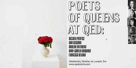 Poets of Queens at QED tickets