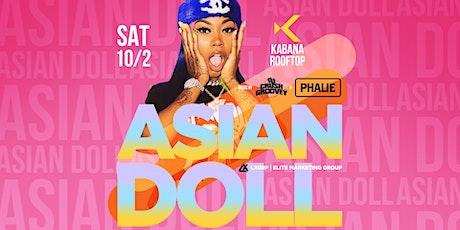 Asian Doll hosts Kabana Rooftop tickets