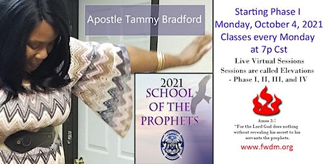 School of the Prophets Elevation Phase I - 3 Month Intensive tickets