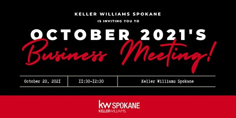 October Business Meeting tickets