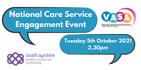 Scottish Government National Care Consultation Engagement Event tickets