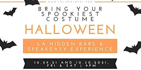 Halloween Spuktacular Hidden Bars and Speakeasy Experience. tickets