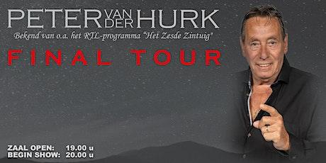 Peter van der Hurk | Final tour tickets