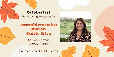 October Fundraising Reception for Sharon Quirk Silva tickets