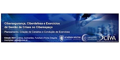 """Sessão aberta """"Análise de Cenários de Ciberataque"""" bilhetes"""