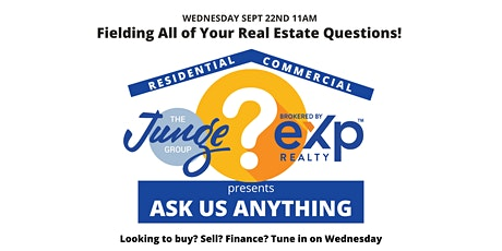 Ask Us Anything - All Your Real Estate Questions Answered tickets