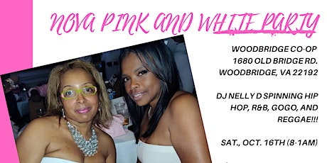 NOVA Pink and White Party tickets