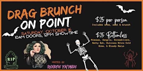 Drag Brunch on Point October tickets