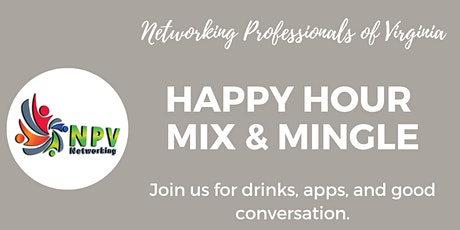NPV Happy Hour tickets