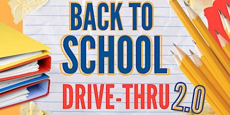 """Back to School "" Drive-Thru Event 2.0 tickets"