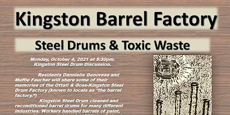 Kingston Barrel Factory Discussion tickets
