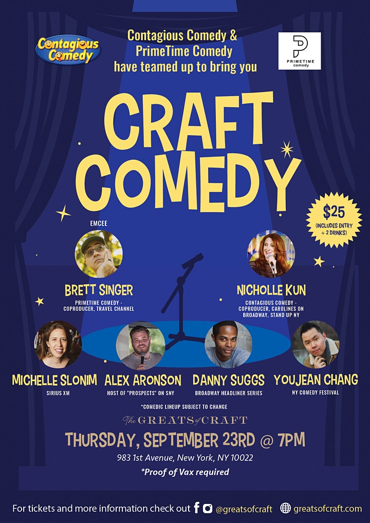 Craft Comedy at GoC! image