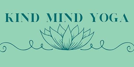 Kind Mind Yoga Class tickets