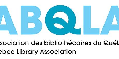 Info Session: Opportunités de bénévolat chez l'ABQLA Volunteer Opportunties tickets