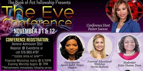 The Book of Acts Fellowship presents the Eve Conference tickets