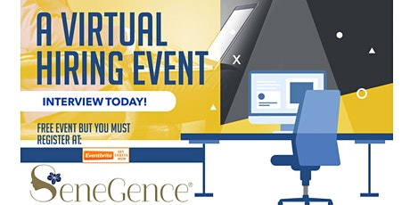 Virtual Hiring Event - Interview Online on Friday 9/24 tickets