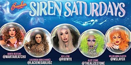 Siren Saturdays 9-18-2021 tickets