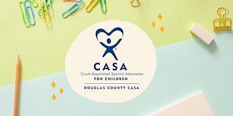 September CASA Volunteer Info. Session tickets