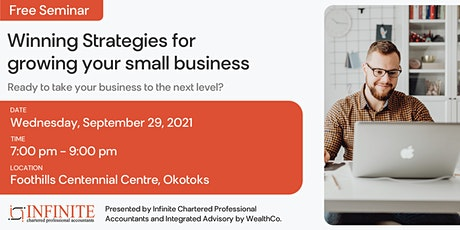 Winning strategies for growing your small business tickets