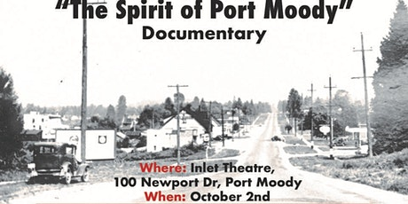 The Spirit of Port Moody tickets