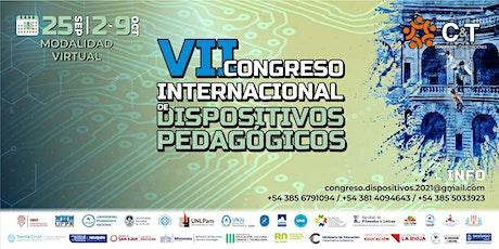 7mo CONGRESO INTERNACIONAL DE DISPOSITIVOS PEDAGÓGICOS ingressos