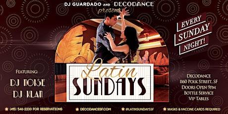 Latin Sundays at Decodance tickets
