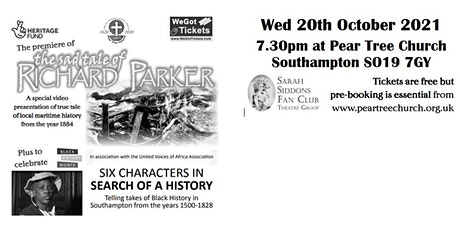 The Premier of The Sad Tale of Richard Parker tickets