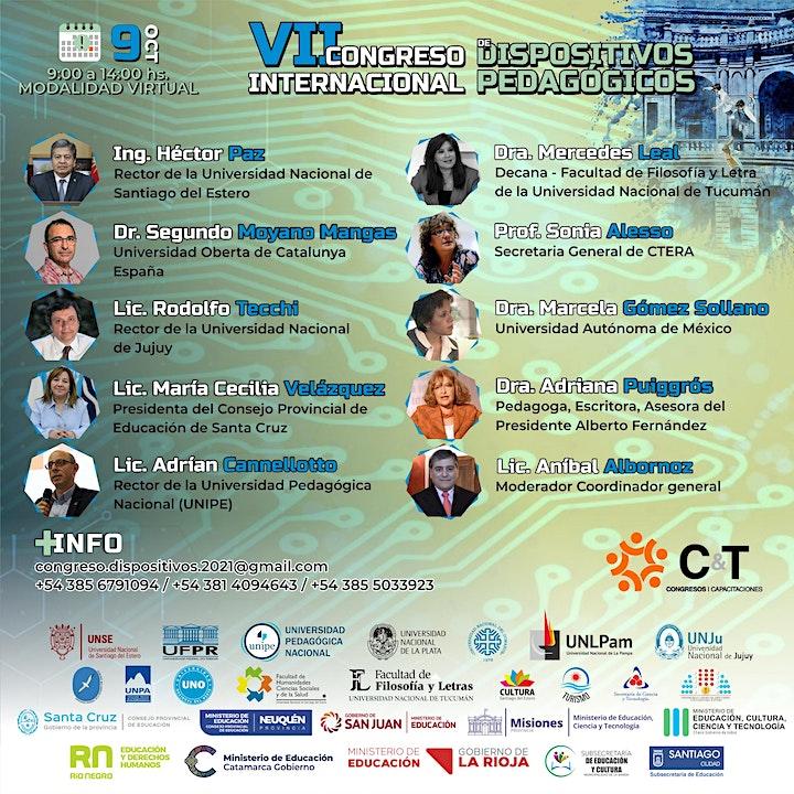 Imagen de 7mo CONGRESO INTERNACIONAL DE DISPOSITIVOS PEDAGÓGICOS