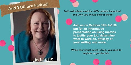 Metrics for Technical Communicators w/Lin Laurie tickets
