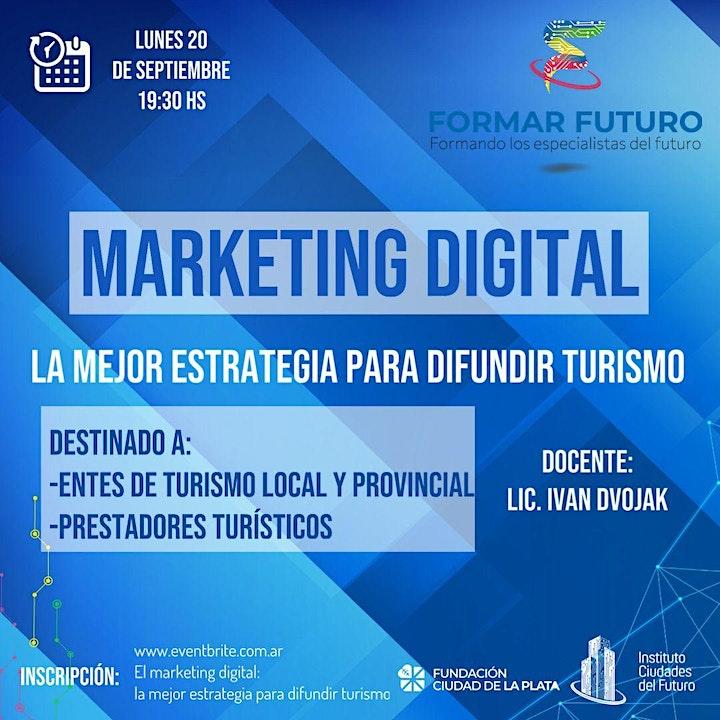 Imagen de El marketing digital: la mejor estrategia para difundir turismo