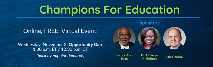 Champions For Education: Opportunity Gap image
