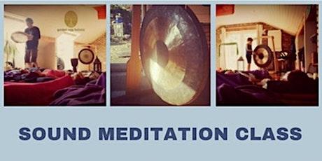 Sound Meditation Class tickets