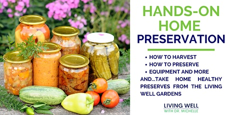 Hands-On Home Preservation tickets