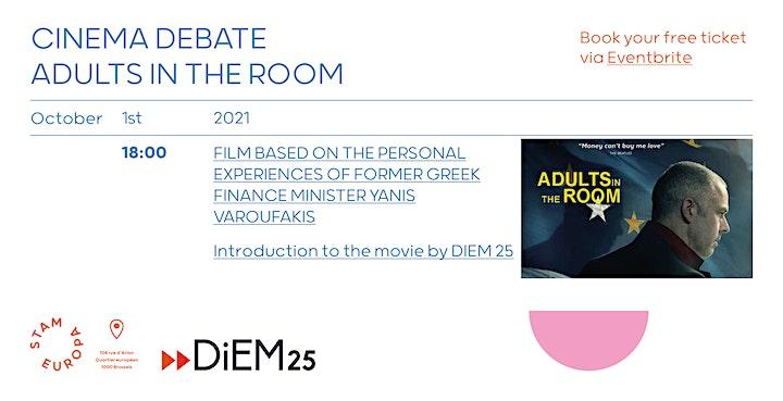 Afbeelding van Cinema Debate: Adults in the Room