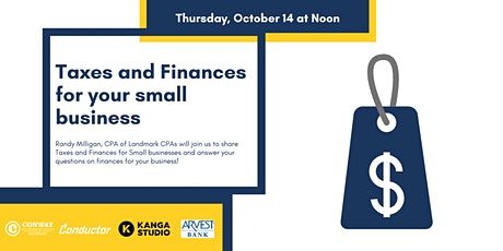 Taxes & Finances for your Small Business tickets